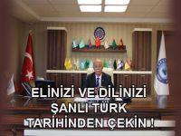 Koncuk'tan Başbakan'a Ermeni Tehciri Tepkisi