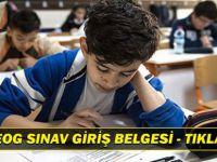 2015 TEOG Sınav Giriş Belgesi - Tıkla İndir - E Okul Vbs /Eokul Vbs