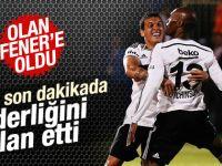 Beşiktaş son dakikada K.Karabükspor'u mağlup etti