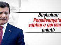 Başbakan Davutoğlu Gülen'le görüşmesini anlattı