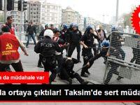 İstanbul'da 1 Mayıs! Polis Müdahalesi Başladı