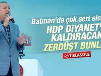 Cumhurbaşkanı Erdoğan'ın Batman konuşması