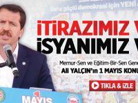 Memur-Sen'in 1 Mayıs İsyanı / video