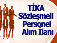 TİKA'ya sözleşmeli personel alınacak