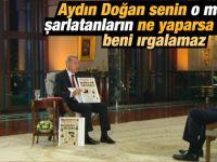 Erdoğan'dan Doğan Medya'ya ağır sözler