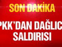 Askere Dağlıca'da havan saldırısı!