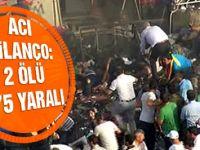 Diyarbakır'dan acı haber: 2 ölü 175 yaralı!