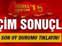 Seçim sonuçları son durumu HDP ve AKP oy oranı