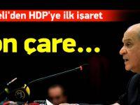 Devlet Bahçeli'den HDP'ye ilk işaret
