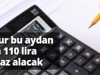 Memur artık 110 lira daha az alacak