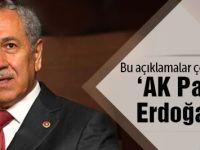 Arınç'tan olay 'AK Parti' ve 'Erdoğan' açıklaması