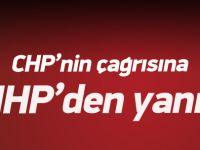 CHP'nin çağrısına MHP'den yanıt!