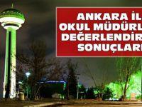 Ankara Müdür Değerlendirme Sonuçları 2015