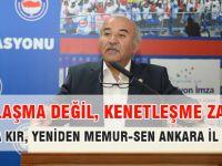 Mustafa Kır: Gün Kenetleşme Günüdür!