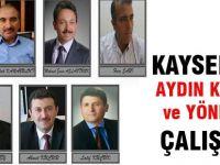 Kayseri'de Aydın Kalkan ve Yönetimi