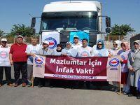 Memur-Sen'den Suriyeli Mültecilere Yardım
