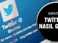 Twitter kapatıldı nasıl girilir DNS ayarları değiştirme