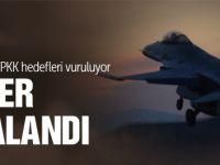 Son dakika PKK operasyonu! Türkiye bombaladı!