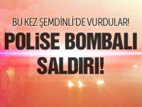 Şemdinli'de polise bombalı saldırı!