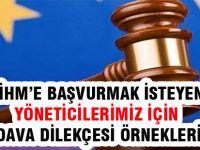 MEB Yöneticileri Avrupa İnsan Hakları Mahkemesi Yolunda