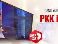Bülent Arınç'tan canlı yayında PKK itirafı