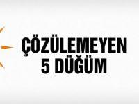 AK Parti-CHP görüşmesi çözülemeyen 5 düğüm!