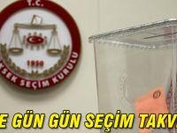YSK seçim takvimini yayınladı