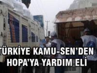 Türkiye Kamu-Sen'den Hopa'ya Yardım Eli
