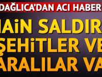 Dağlıca'da çatışma: Şehit ve yaralılar var