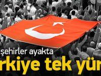 Türkiye'de teröre lanet yürüyüşleri