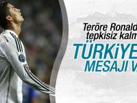 Ronaldo'dan Türkiye'ye mesaj var