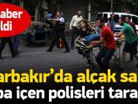 Diyarbakır'da polislere saldırı: 3 yaralı 1 ölü
