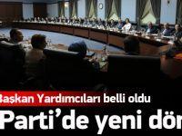 AK Parti Genel Başkan yardımcıları belli oldu