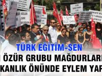 MEB Önünde Özür Grubu Atama Eylemi