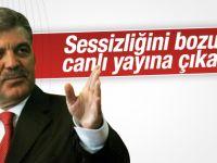 Abdullah Gül NTV'de canlı yayına çıkacak