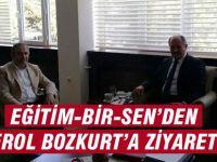 Eğitim-Bir-Sen'den Erol Bozkurt'a Ziyaret
