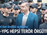 PYD-YPG hepsi terör örgütü