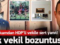 Kaymakam HDP'li vekile dersini verdi