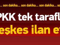 PKK tek taraflı ateşkes ilan etti