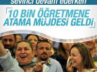Nabi Avcı 10 bin öğretmenin atanacağını açıkladı