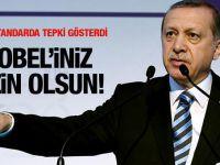 Erdoğan'dan Merkel'e: Nobel'iniz sizin olsun