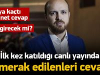 Bilal Erdoğan'dan İtalya'ya kaçtı iddiasına yanıt