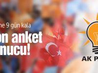 Son AK Parti anket sonucu Taner Yıldız açıkladı!
