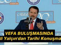 Ali Yalçın'dan Tarihi Konuşma
