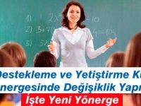 MEB Destekleme ve Yetiştirme Kursları Yönergesi 2015 İşte Yeni Yönerge