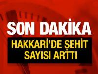 Hakkari'de PKK saldırısı 1 astsubay ve 1 polis şehit
