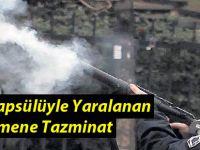 Gaz Kapsülüyle Yaralanan Öğretmene Tazminat