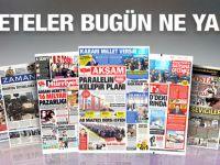 13 Kasım 2015 gazete manşetleri