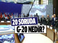 G-20 nedir? 20 soruda G-20'nin özeti