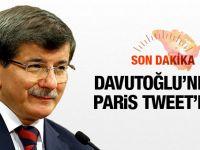 Paris saldırıları, Davutoğlu ne dedi?